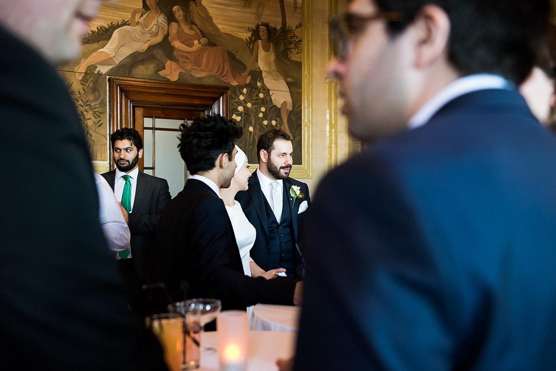 Unobtrusive wedding photography London
