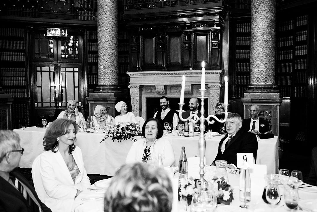 One Whitehall Place elegant London wedding