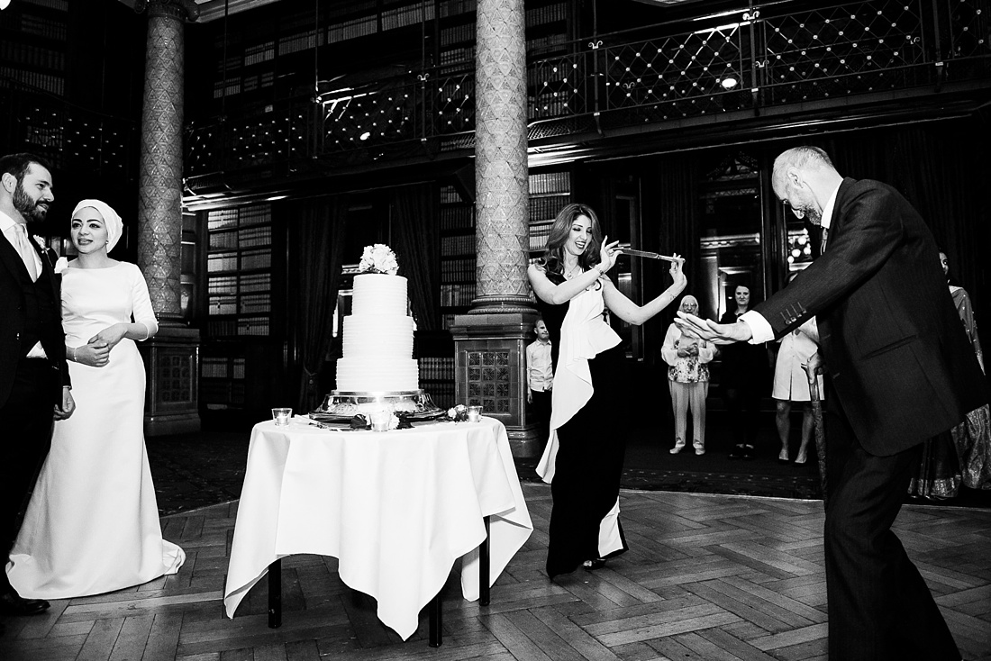 Iranian knife dance Persian wedding London