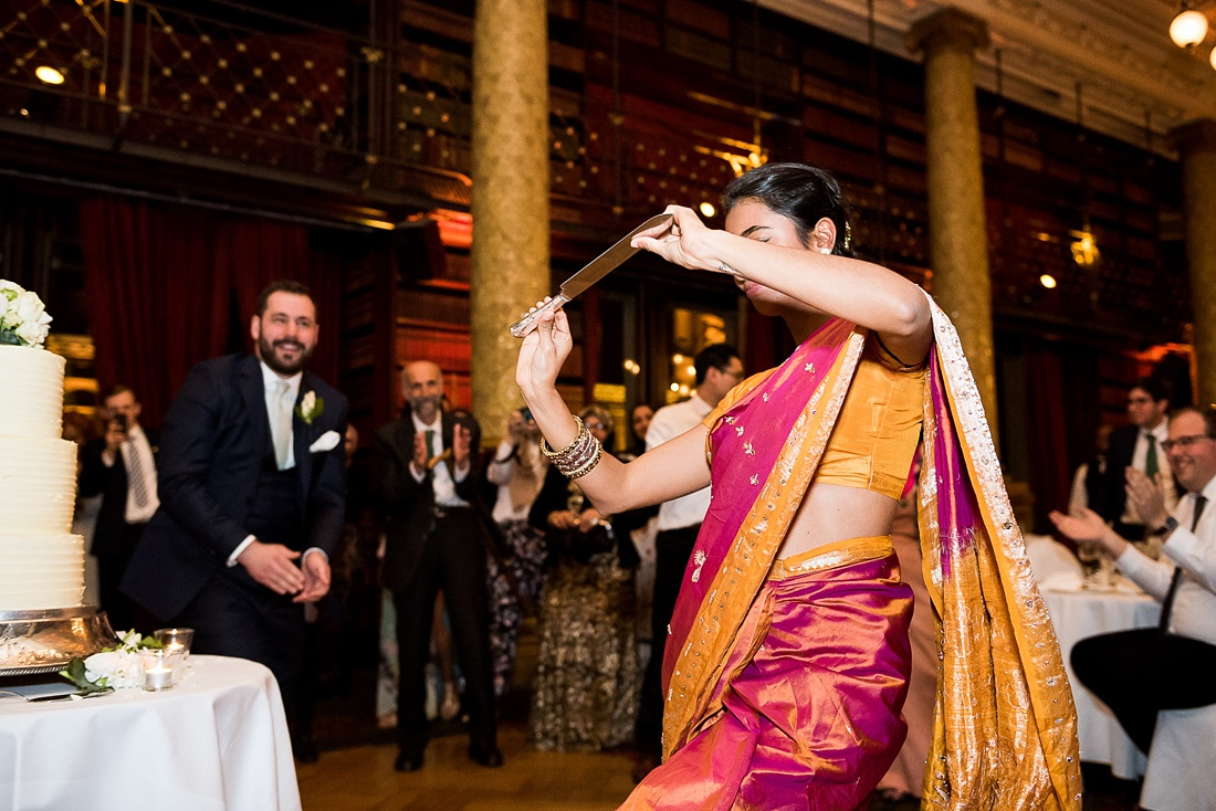 Lively Iranian knife dance Persian wedding London