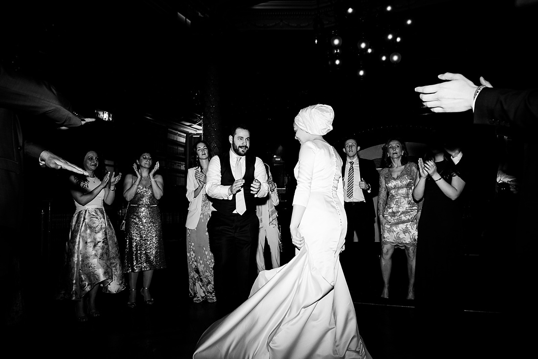 Lively first dance Persian wedding London