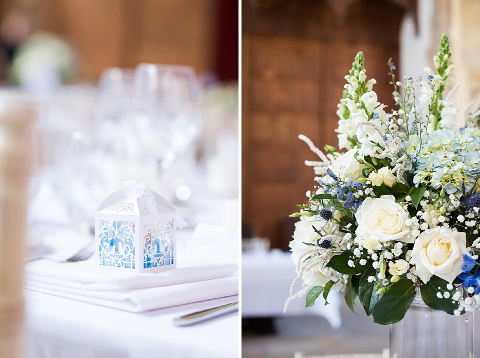 Mimi Fleur wedding flower decor with wedding favour London