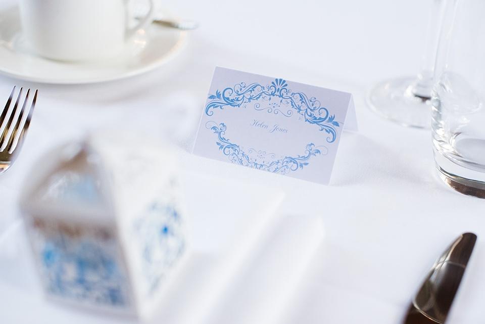 Jumpfox stationery luxe London wedding
