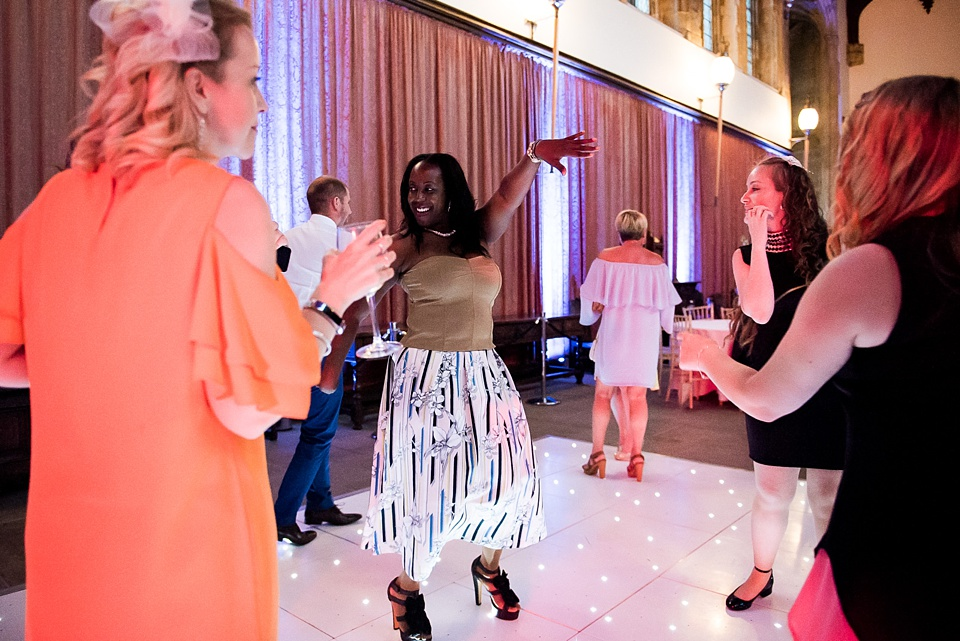 Fun dance floor Eltham Palace London