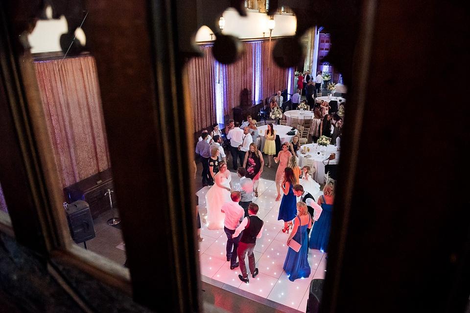 Unobtrusive wedding photography Eltham Palace London