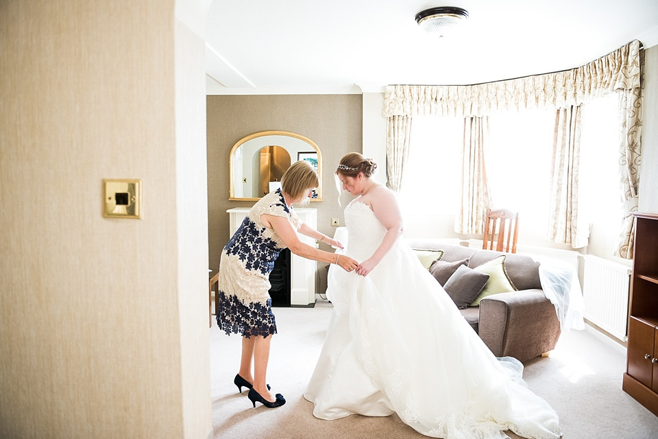 Bride wearing With Love Bridal dress pre wedding photography London