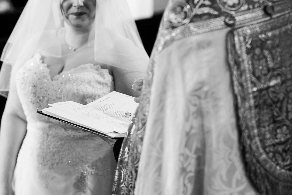 Creative church wedding photography London