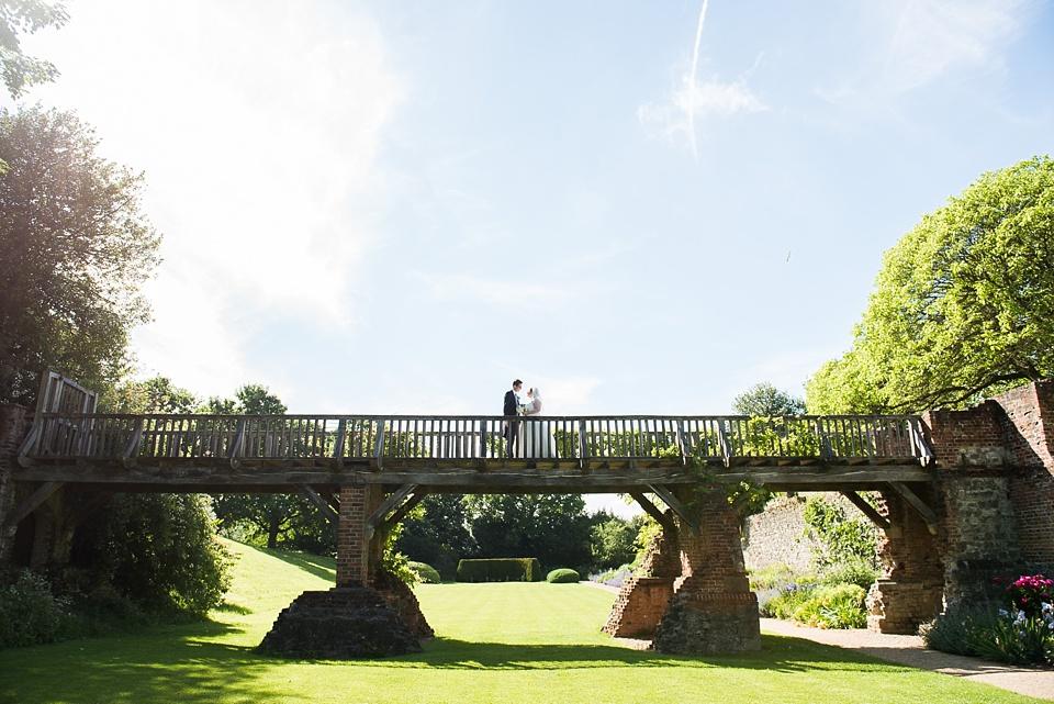 Elegant sunny wedding celebration Eltham Palace London
