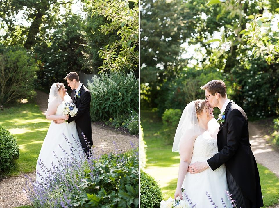 Eltham Palace London wedding portrait