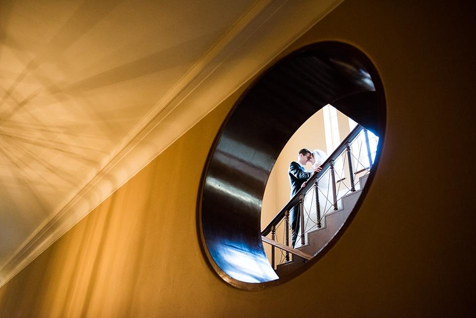 Creative wedding photography Eltham Palace London