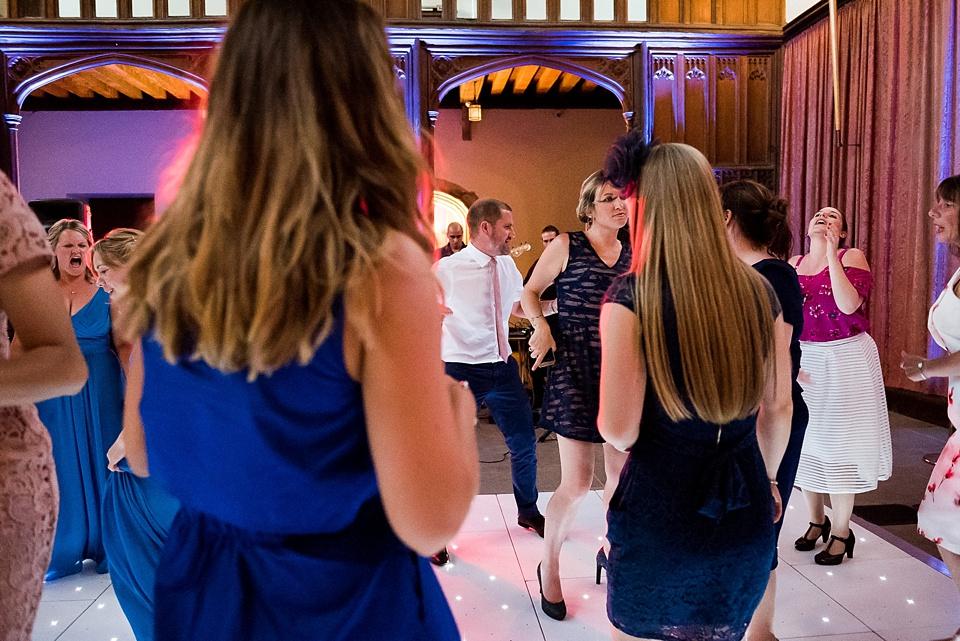 Eltham Palace wedding dance floor