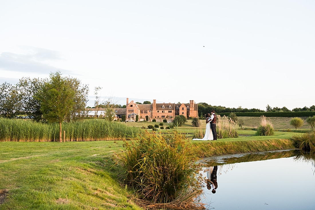 The Old Hall Ely country house wedding portrait