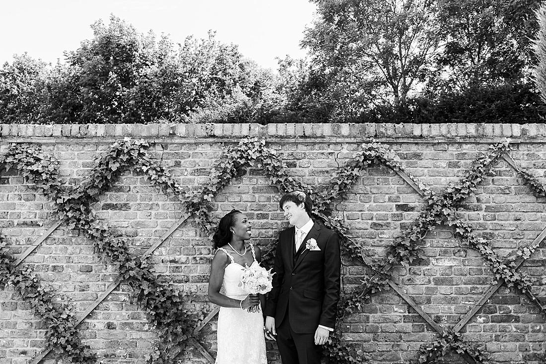 Burr Bridal with Ted Baker groom natural wedding portrait