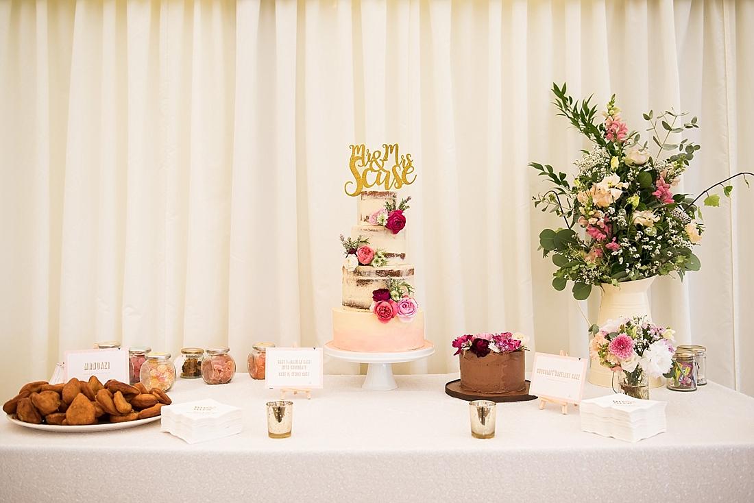 Chocolate wedding cake by Emily Harmston Cakes