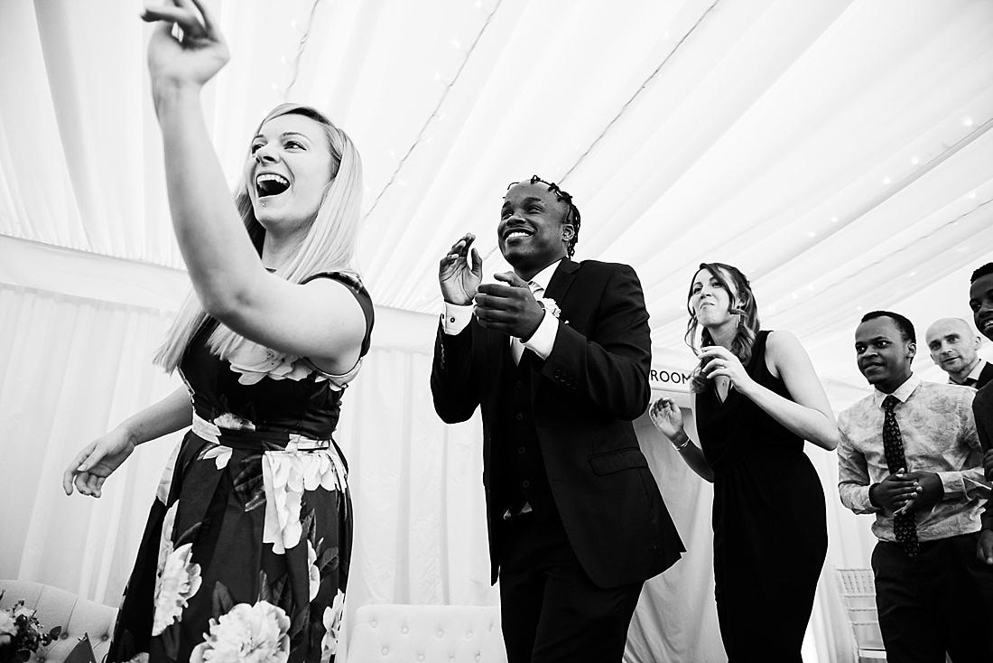 Lively fun Kenyan wedding