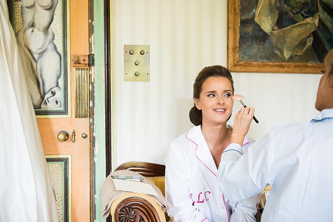 Katharine Kunkler bridal make up
