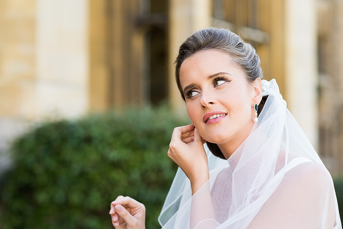 Elegant bride pre wedding photography