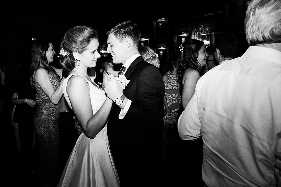 Suzanne Neville bride with groom dance