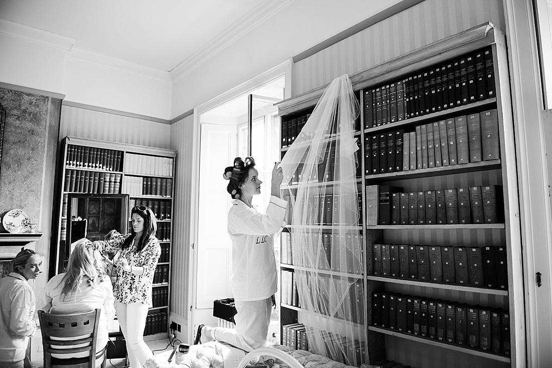 Bridal prep creative pre wedding photography