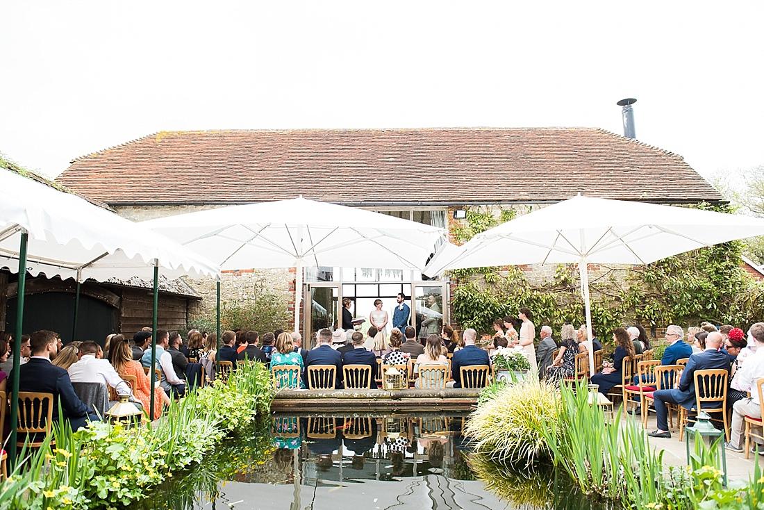 Beautiful outdoor wedding venue Bartholomew Barn