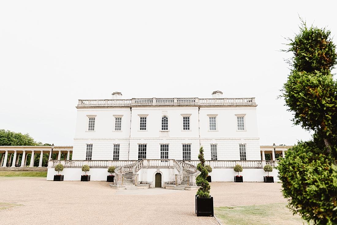 Queens House Greenwich wedding venue