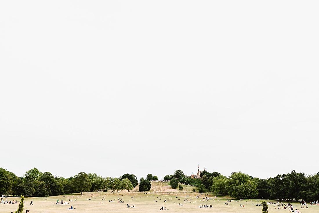 summer's day Greenwich
