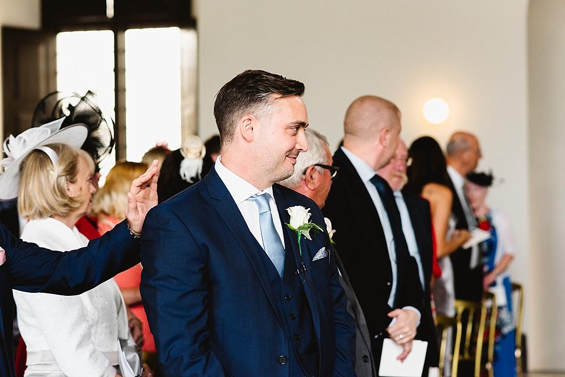 Queens House wedding ceremony