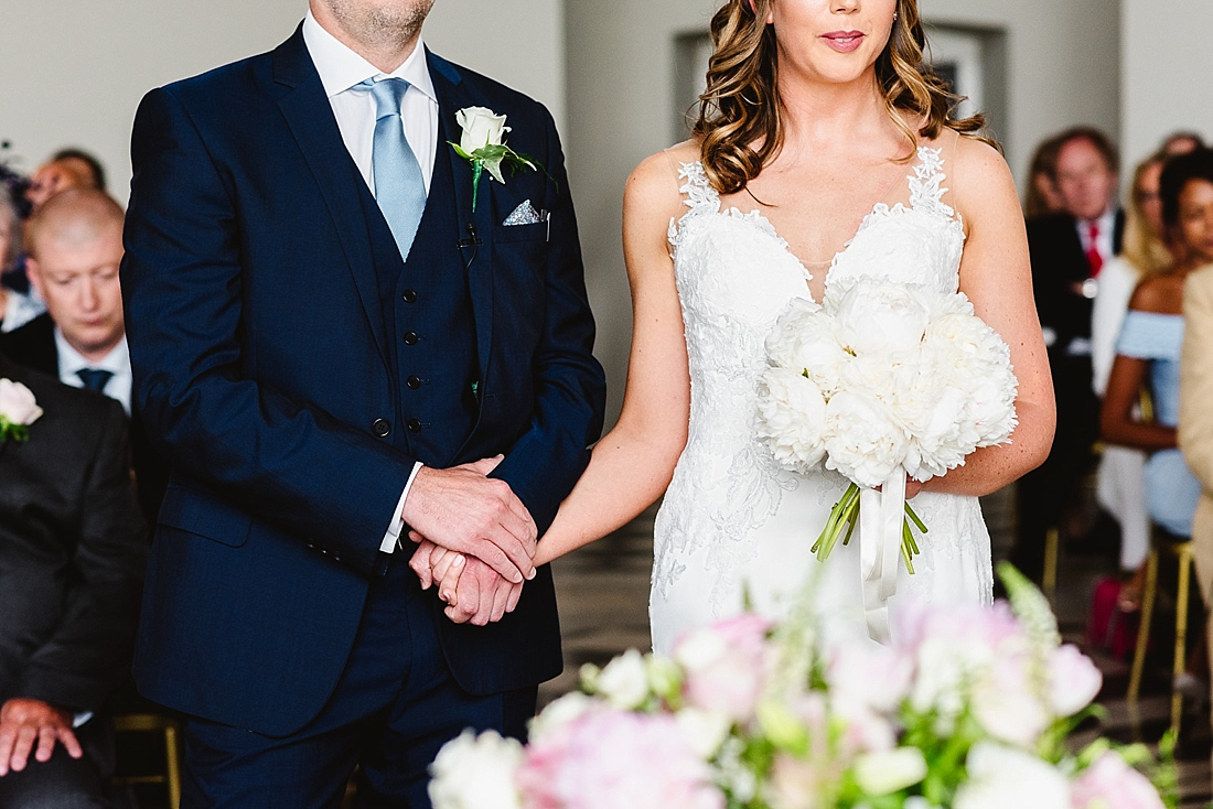 Lace wedding dress La Sposa London