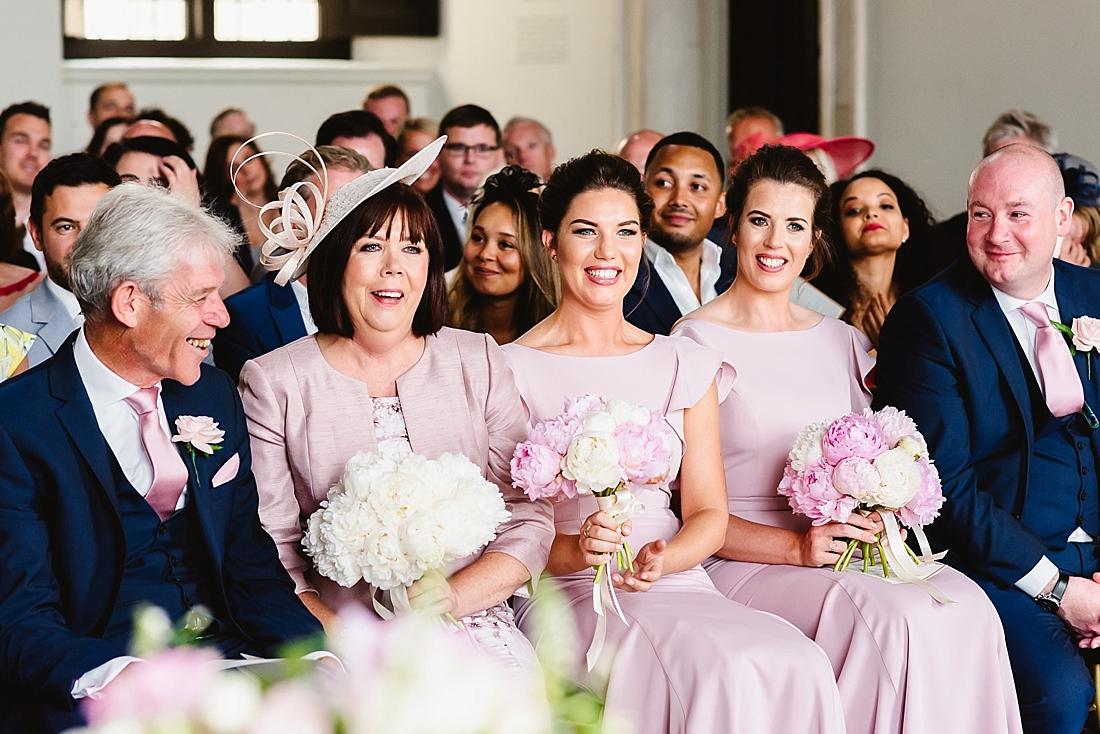 pastel pink wedding theme London