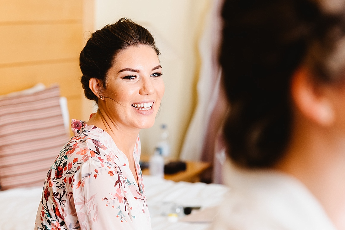 Stylish bridesmaid London wedding