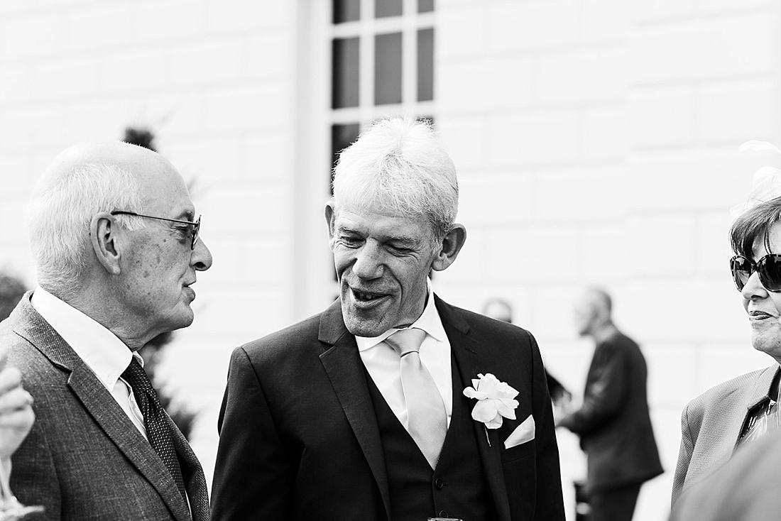 Black and white wedding photography London
