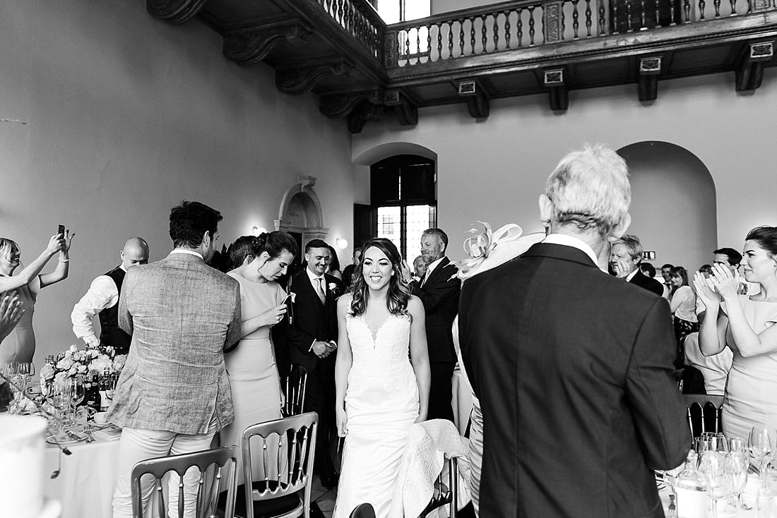 Black and white documentary wedding photography London