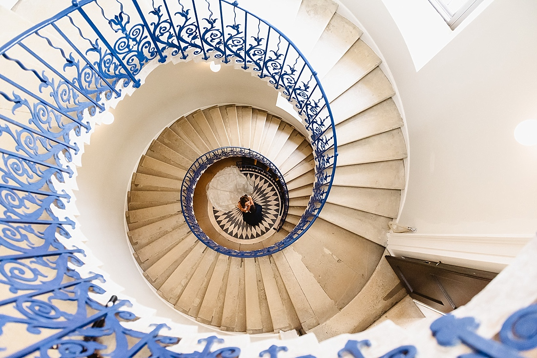 Tulip staircase Queens House Greenwich