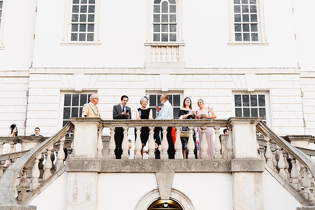 Outdoor wedding reception Greenwich
