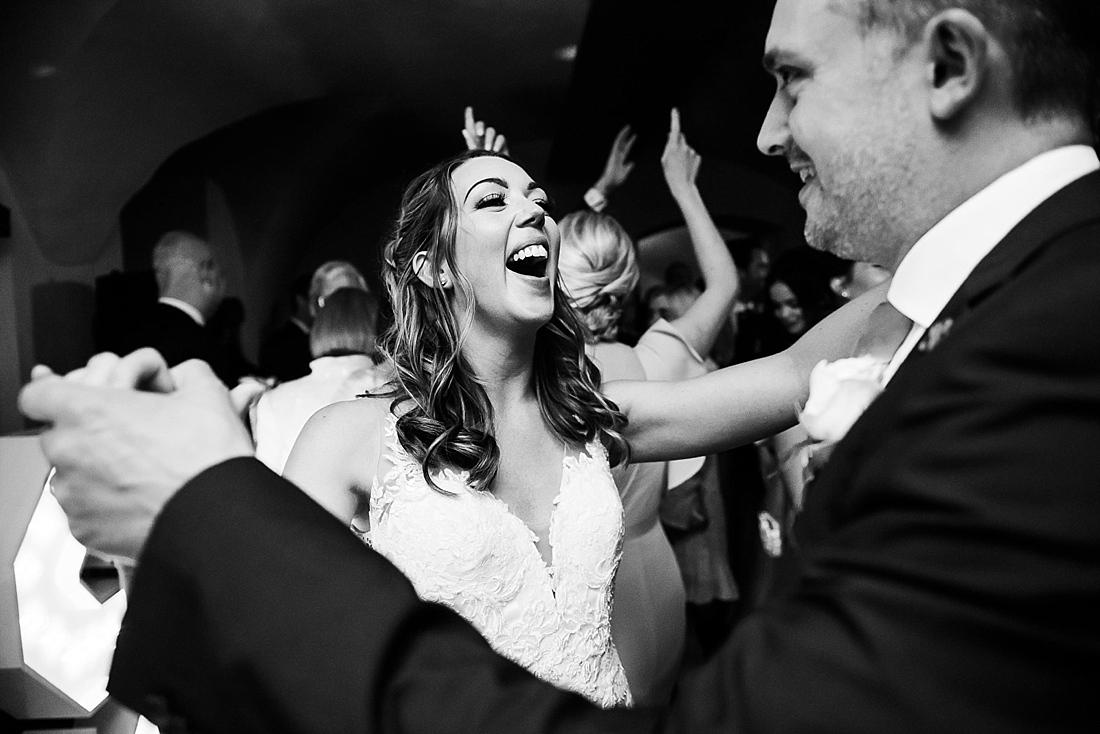 La Sposa bride black and white wedding photography